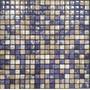 Venecita Malla Mosaico De Vidrio 30x30 Capri Mix