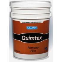 Quimtex Romano Fino - Revestimiento Acrílico - 27kg