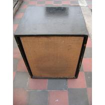 Caja Vintage Con Parlante Jahro 12 Pulgadas , 100 Watts.