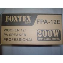 Woofers 12 Pulgadas - Marca Foxtex
