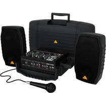 Sistema Mixer Portable Behringer Ppa200 Artemusical