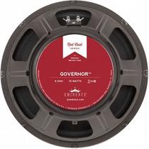 Parlante Eminence Governor 12 75w 8ohm Guitarra Envio Gratis