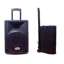 Bafle Potenciado Embassy Bq8 500w Bluetooth Usb Mp3 Radio Fm