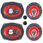 Juego Parlante Sound Xtreme 6 X 9 600w + 6 1/2 500w C J F