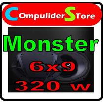 Juego De Parlantes Monster 6x9 70w Rms 320w Max W-6903