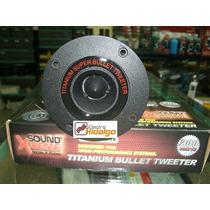 Tweeter Bala Aluminio Sound Xtreme Tws18 200w 97 Db !!