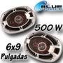 Parlantes Auto Cuatriaxiales 6x9 500w X2 Unidades C/rejilla