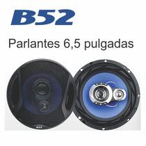Parlantes Para Auto B52 6,5 250w 3 Vias Cono Inyectado