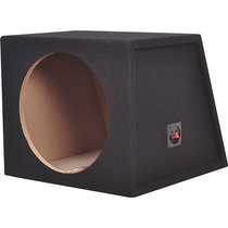 Metra - Caja De Subwoofer Sellada Simple De 12 - Carbón