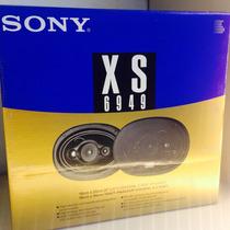 Parlantes Sony 6x9 Xs-6949 Nuevo!