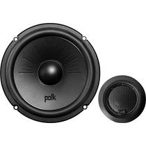 Polk Audio - Bocinas Componentes De 6-1/2 Con Conos De Comp