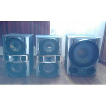 Subwoofer / Bafles / Parlantes Sony Mhc-rg490s Desconados