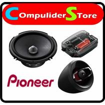 Juego De Componentes Pioneer Ts-a 1605 C 6.5 350w - 60w Rms