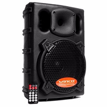 Bafle Parlante Winco 20cm Usb Sd Potencia 300w Karaoke Mic!!
