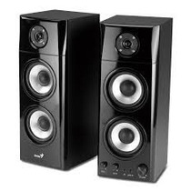 Parlantes Genius Sp Hf 1800a Madera 3 Vias Tv Ipod, Pc Gamer