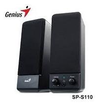 Parlantes Genius Sp-s110 Negro