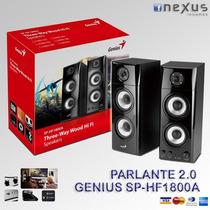 Parlantes 2.0 Genius Sp-hf1800a