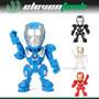 Parlante Portátil Iron Man Recargable Usb Pc Celular Tf Fm