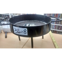 Disco Arado Cocinar Paellera 35 Cm Suncho Alto 8cm