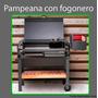 Funda Parrilla Tromen Pampeana C/ Fogonero Tela Gruesa Bagun