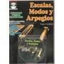 Libro Metodo De Enseñanza Guitarra Escalas, Modos Y Arpegios