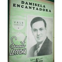 Partitura Vals Cancion Damisela Encantadora Ernesto Lecuona