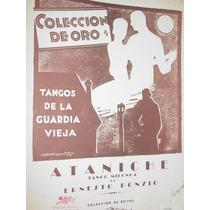 Partitura Musica Tango Milonga Ataniche Ponzio Guardia Vieja