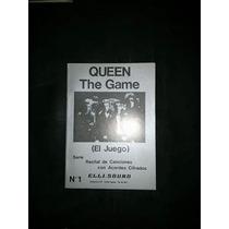 Queen Cancionero Para Guitarra (acordes Y Letra) + Biografia