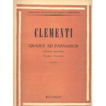 Clementi Gradus Ad Parnassum - Piano Partitura Ricordi
