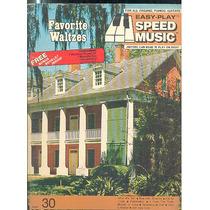 Partitura Nº 30 Favorite Waltzes Speed Music Ingles