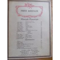 Kreisler Partituras Para Violin Y Piano