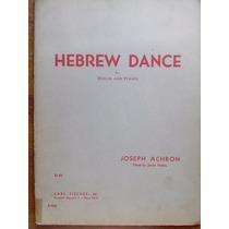 Achron, Joseph Partituras De Violín Y Piano