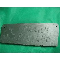 Antiguo Cartel De Piedra