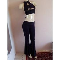 Conjunto Pantalon Top Danza Arabe