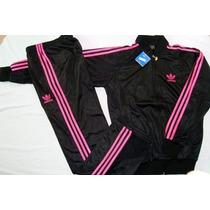 Conjunto Deportivo Adidas Para Niñas (2-16)