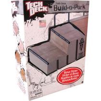 Tech Deck.segmento P/armar Parque: Escalera -minijuegosnet