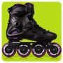 Rollers Powerslide Imperial Pure Freeskate Slalom Chasis Alu