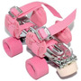 Patines Classic Extensibles Nº 27 A 41 Rosa Leccese