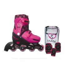 Rollers Infantiles Extensibles Con Kit De Proteccion Y Bolso