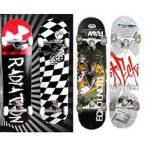 Skates Stark Profesionales Doble Cola Maple 9 Capas Truck Al