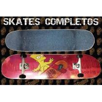 Skate Completo Brothers Bart Descuento Dia Del Niño