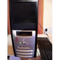 Pc Computadora Core Duo Con Placa De Video Y Monitor