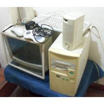 Computadora Pc Completa Usada Con Windows 98
