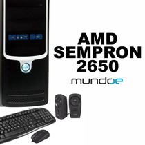 Computadora Cpu Amd Sempron 2650 Hd500gb 4gb Kit Completo