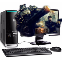 7013 - Pc Cpu Amd Quad Athlon X4 + 4gb Ddr3 + Hd 500 + Dvd