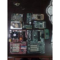 Lote De Placas Motherboard-red-intel-amd-audio-video-rigido