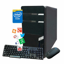 Pc Computadora Cpu Intel Dual Core 2gb Hd 500gb Gabinete Kit