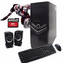Pc Gamer Armada Amd Quad-core Placa Video 2gb Ddr5 8gb Win