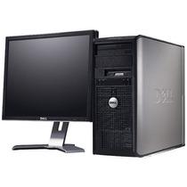 Pc Computadora Completa Dell Lcd Teclado Mouse Winxp Gtia 6m