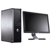 Pc Completa Monitor 17 Dell Core 2 Duo 500gb 2gb Dvd Win Xp